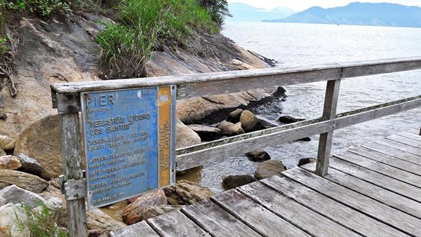 Praia do Camaroeiro - Píer