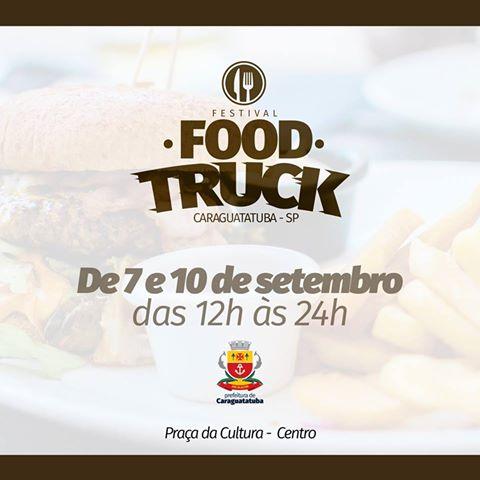 Programação Cultural Setembro 2017 - Festival de Food Trucks