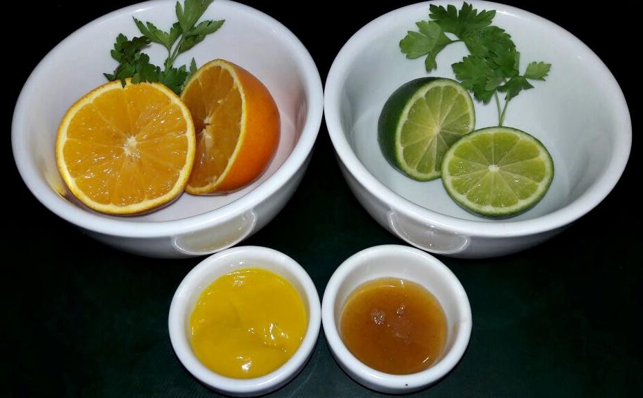 Salada Tropical: Ingredientes